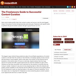 The Freelancers Guide to Successful Content Curation