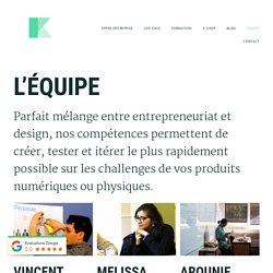 Le collectif Klap composé de freelances / indépendants en Design Thinking