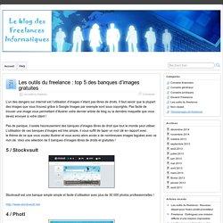 Les outils du freelance : top 5 des banques d'images gratuites