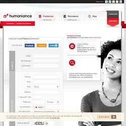 Freelances : vos missions, votre CV et visibilité - Humaniance.com
