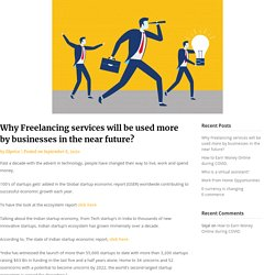 Why Freelancing services will be used more by businesses in the near future? Ekprice-Blog