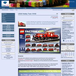 LEGO Hobby Train 10183 - FreeLUG : French Enthusiasts LEGO Users Group
