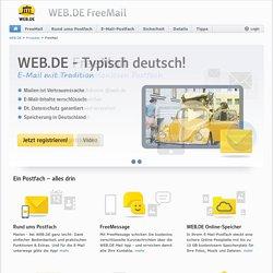 Kostenlose E-Mail-Adresse von WEB.DE