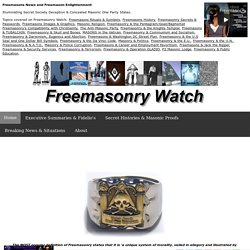 Freemasonry Watch - Is the Devil in the details? | Freemasons Ne