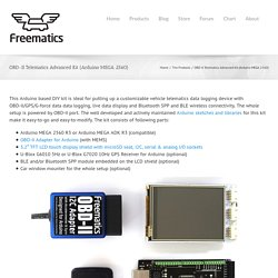 Freematics – OBD-II Telematics Kit #3 (Arduino Compatible)