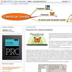 Freemind 1.0.0 : clonez et collaborez
