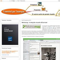 Mohiomap : la béquille visuelle d'Evernote
