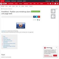 FreeMind - Publier une mindmap dans une page web
