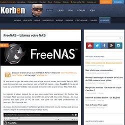 FreeNAS – Libérez votre NAS