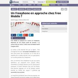 Un Freephone en approche chez Free Mobile?