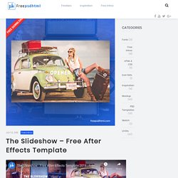 The Slideshow – Free After Effects Template