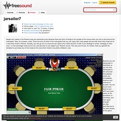 Freesound.org - jarsailor7