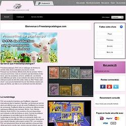 Freestampcatalogue.fr - Le catalogue de timbres en ligne gratuit avec plus de 500,000 timbres.