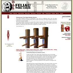 Freestanding Wing Chun Wooden Dummy