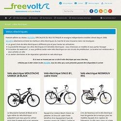 Freevolt, vélos électriques Lorient