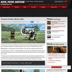 Freeware Garden: Mimicry Man