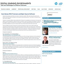DIGITAL LEARNING ENVIRONMENTS: Tools and Technologies for Effect