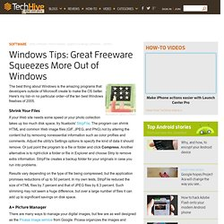 Windows Tips: Great Freeware Squeezes More Out of Windows