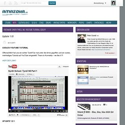 Freeware synth Tyrell N6: YouTube Tutorial COOL! - Keys