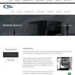 Dubai Freezer Truck Rental Services