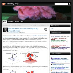 Chemistry Blog » Blog Archive » How Water Freezes Lower on a Negatively Charged Surface