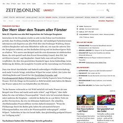 Freiburger Stadtwald: Experten aus aller Welt begutachten die Freiburger Douglasien