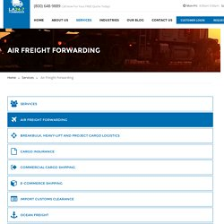 Air Freight Forwarding Los Angeles