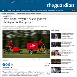 *****Cargo bikes: Cycle freight: why the bike is good for moving more than people