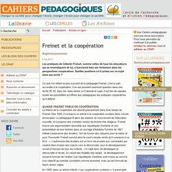 Freinet et la coopération