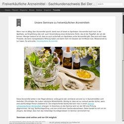 Freiverkäufliche Arzneimittel - Sachkundenachweis Bei Der IHK: Unsere Seminare zu freiverkäuflichen Arzneimitteln