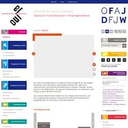 Deutsch-Französischer Freiwilligendienst (Freiwilligendienst) im Vereins- und Schulwesen