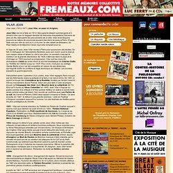 Frémeaux & Associés éditeur , La Librairie Sonore - VILAR JEAN