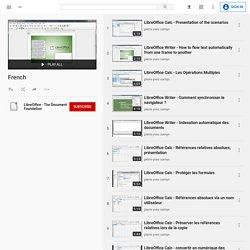 LibreOffice - niveau avancé - formation en vidéo