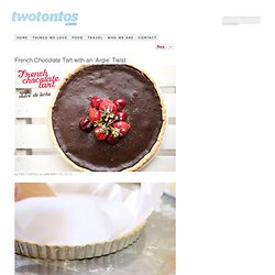 French Chocolate Tart with and 'Argie' Twist