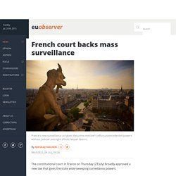 French court backs mass surveillance