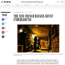 The New French Hacker-Artist Underground
