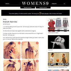 French Hair-Do - Womens9