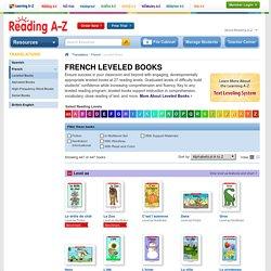 French Leveled Books