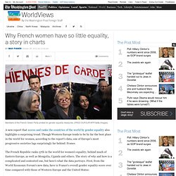 Why French women have so little equality, a story in charts