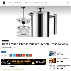 Best French Press: Mueller French Press Review - Best Decaf Coffee