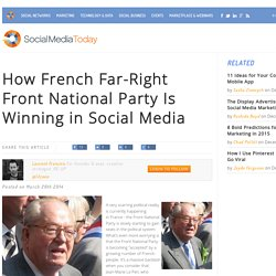 How French Far-Right Front National Party Is Winning in Social Media