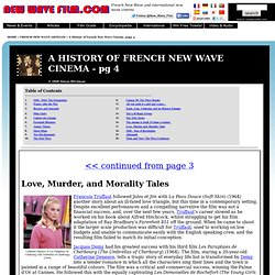 FRENCH NEW WAVE HISTORY