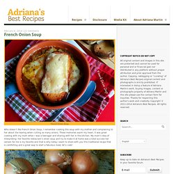 Adriana's Best RecipesAdriana's Best Recipes