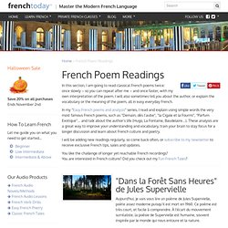 Classic French Poem Readings & Analysis | French Today