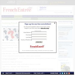 Using French Proverbs