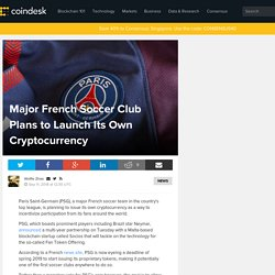 Major French Soccer Club Plans to Launch Its Own Cryptocurrency