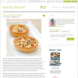 French Tomato Tartlets