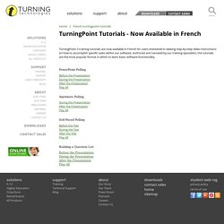 French TurningPoint Tutorials