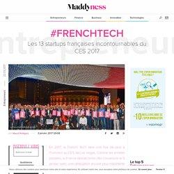 #FrenchTech : Les 13 startups françaises incontournables du CES 2017 - Maddyness