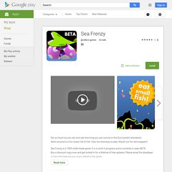 Sea Frenzy - Android Apps on Google Play